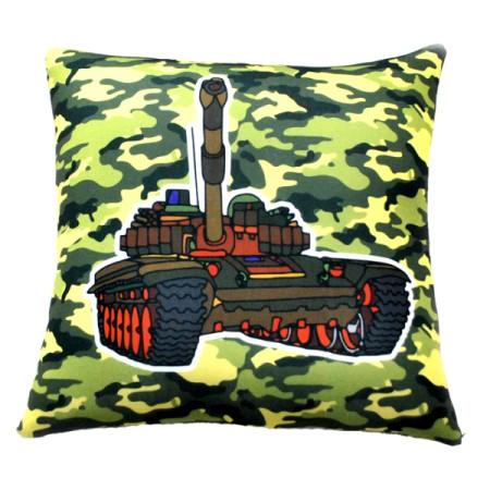 Подушка Игрушка Танк 01