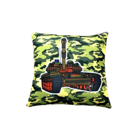 Подушка Игрушка Танк 01 25х25