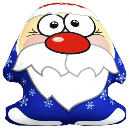Игрушка Дед Мороз синий