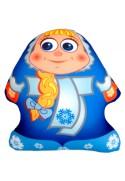 Игрушка Снеговик Аленка синяя