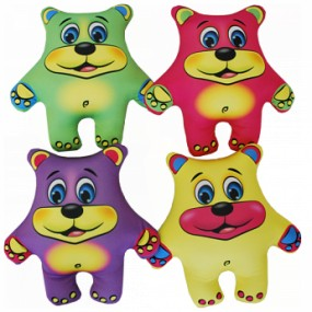 Набор мини Игрушки Медведи цветные, 4шт