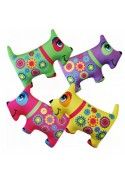 Набор мини Игрушки Собаки цветные, 4шт