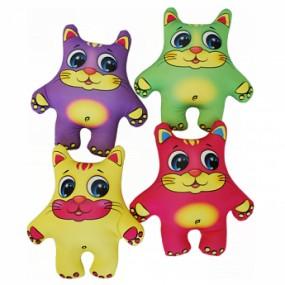 Набор мини Игрушки Коты цветные, 4шт