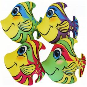 Набор Мини Игрушки Рыбки цветные, 4 шт