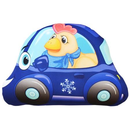 Игрушка Машинка Петушок мини синяя