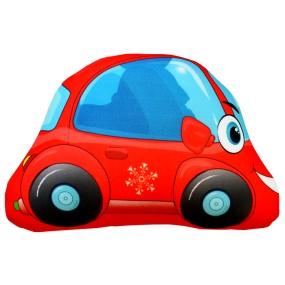 Игрушка Машинка Петушок мини красная