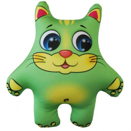 Игрушка Кот зеленый