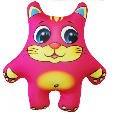 Игрушка Кот розовый
