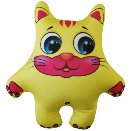 Игрушка Кот желтый