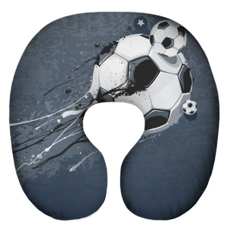 Подушка под шею Игрушка Футбол 06