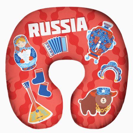 Подушка под шею Игрушка Россия 01