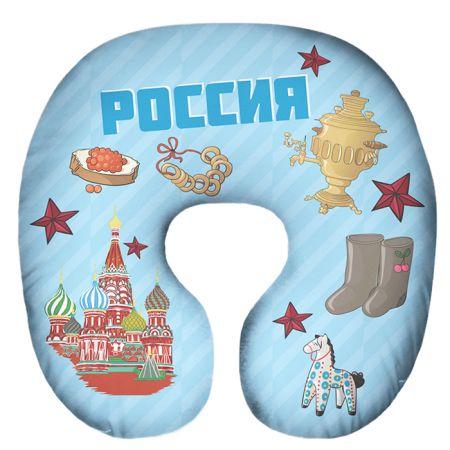 Подушка под шею Игрушка Россия 02