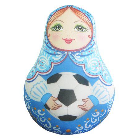 Игрушка Матрешка Футбольная 02 мини