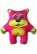 Игрушка Медведь розовый