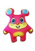 Игрушка Мышь розовая
