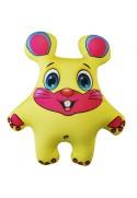 Игрушка Мышь желтая
