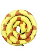 Игрушка Змея спираль  желтая