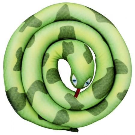 Игрушка Змея спираль зеленая