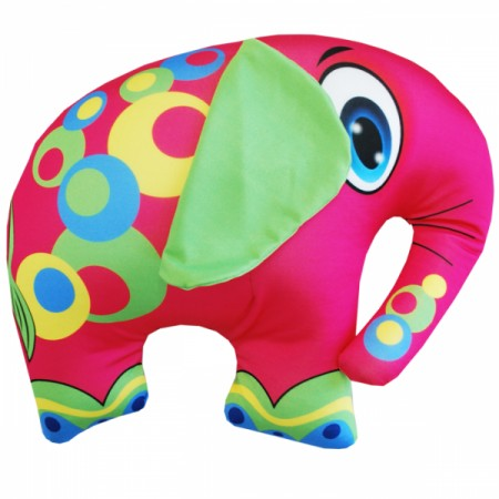 Игрушка Слон розовый