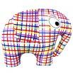 Игрушка Слон клетчатый