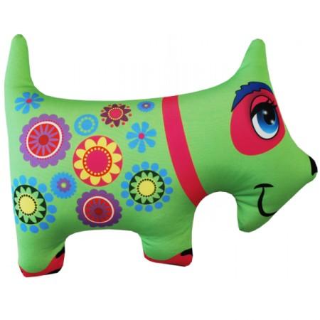Игрушка Собака зеленая