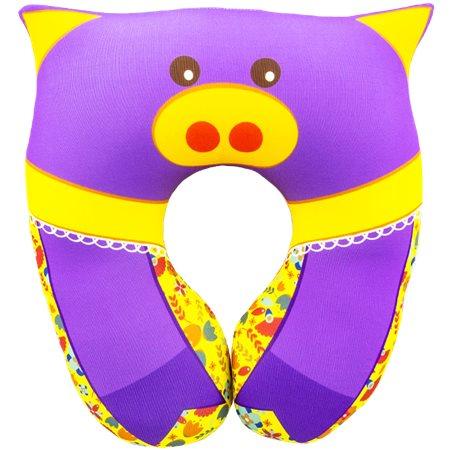 Подушка под шею Игрушка Свинка 01