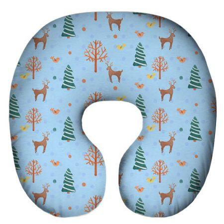 Подушка под шею Игрушка Снежный 03