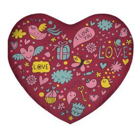 Подушка Игрушка Колобанга Сердце 04
