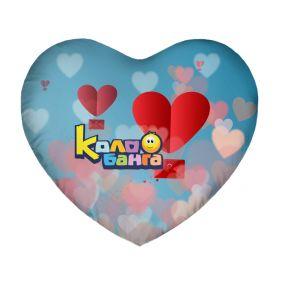 Подушка Игрушка Колобанга Сердце 06