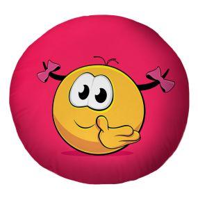 Подушка Игрушка Колобок Челка
