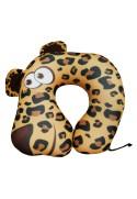 Подушка под шею Игрушка Леопард