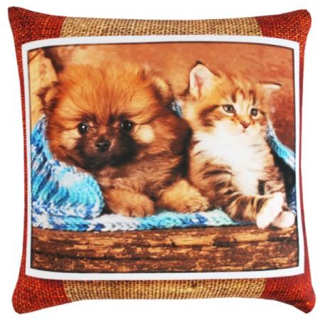 Подушка Игрушка Животные Кошки и Собаки 6