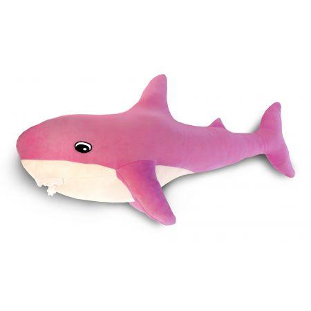 Подушка Пушистик Акула розовая