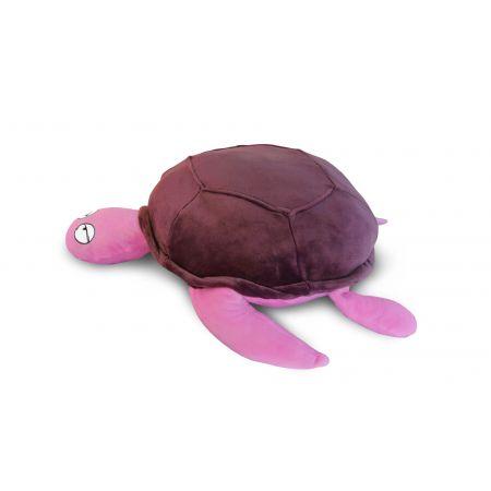 Подушка Пушистик Черепаха бордовая