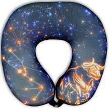 Подушка под шею Игрушка Звездный бык 01