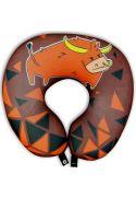 Подушка под шею Игрушка Звездный бык 07