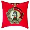 Подушка-медаль 'Самому веселому'