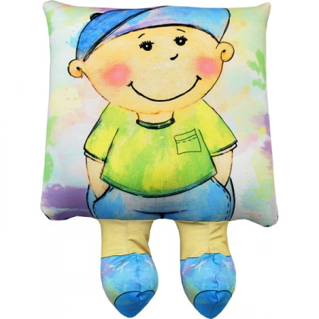 Подушка Игрушка  Мальчик 02