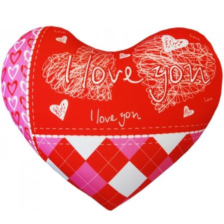 Подушка Игрушка Сердце 01