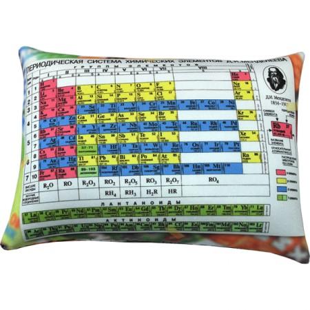 Подушка Игрушка Таблица Менделеева